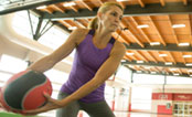 UW Health Sports Performance CrossTrain: Woman working out