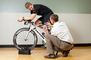 UW Health Sports Performance's performance bike fittings help bikers ride more efficiently.