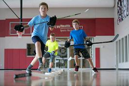 UW Health sports performance speed and strength training: Dryland Hockey