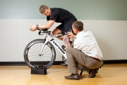 UW Health Sports Rehabilitation Cyclists Clinic: Cyclist and therapist