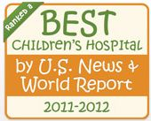 U.S. News and World Report Best Children's Hospital