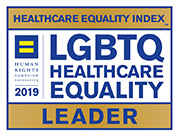 2019 Healthcare Equality Index LGBTQ Healthcare Equality Leader Award
