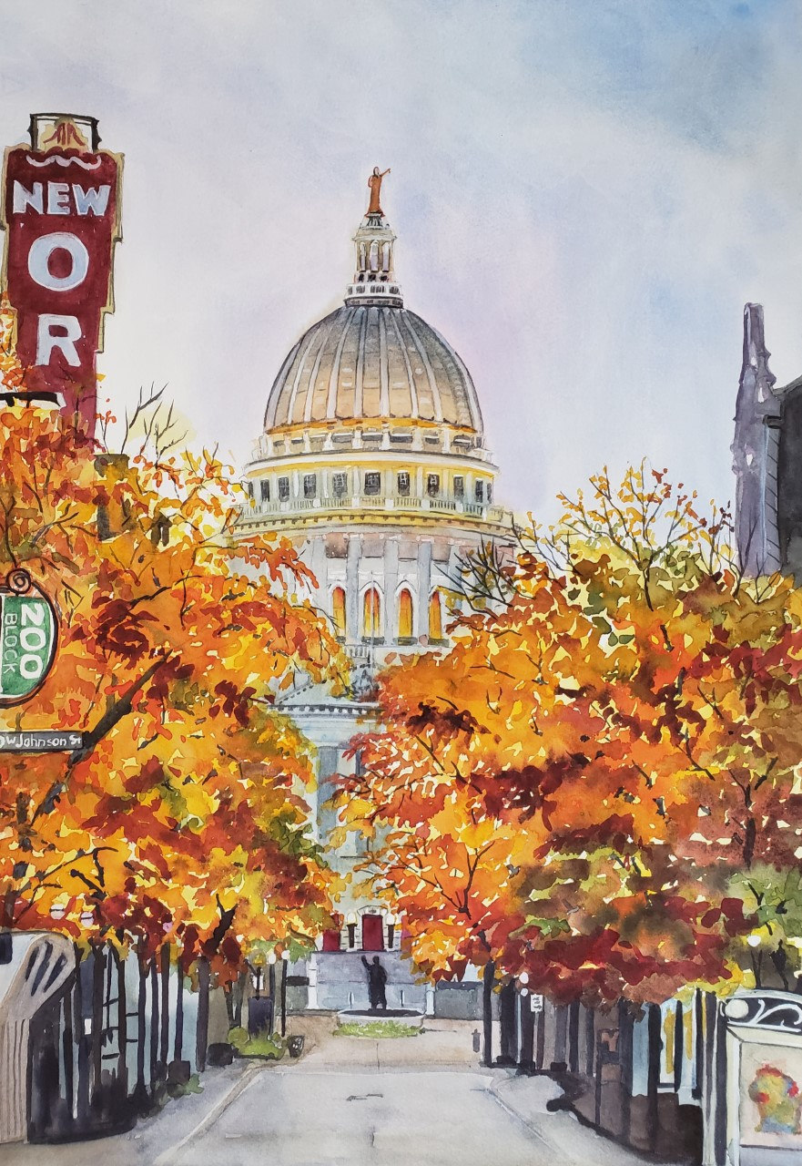 Autumn in Madison by Anne Urso