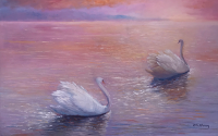 Swans #1, by C.K. Chang