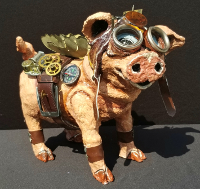 Steampunk Pig, by Suzanne Miller and Nikki Cooper