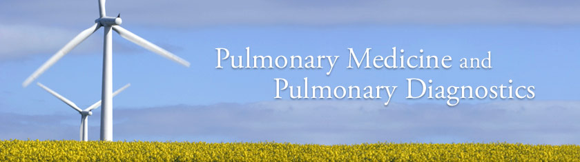 Pulmonary Medicine and Pulmonary Diagnostics
