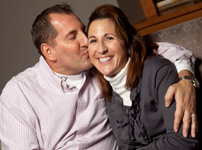 Troy and Mindy Schwenn, University of Wisconsin Carbone Cancer Center Annual Report