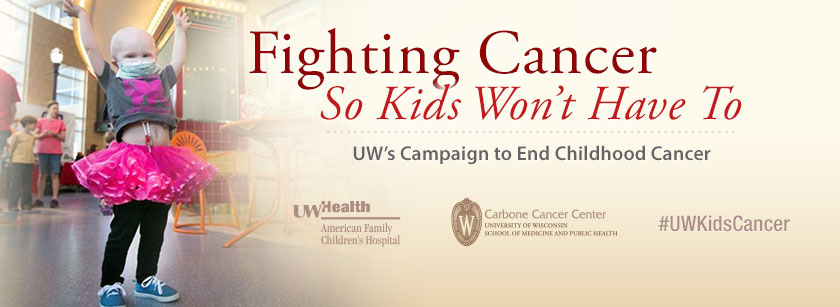 Fighting Cancer So Kids Won't Have To