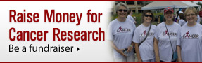 Raise Money for Cancer Research: Be a fundraiser