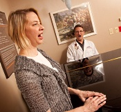 UW Health Voice Clinic: Singer with physician