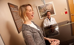 UW Health Voice and Swallowing: Doctor with singer