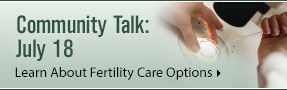 Generations Fertility Care Community Talk: Learn About Fertility Care Options