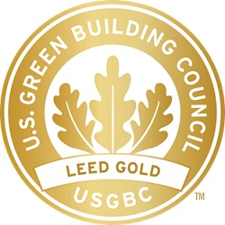 U.S. Green Building Council LEED Gold logo