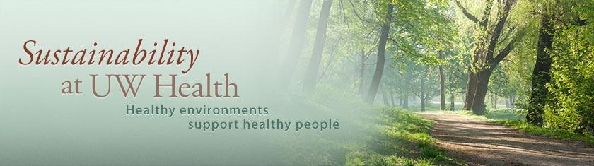 Sustainability at UW Health