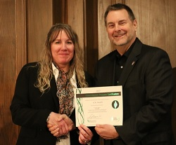 UW Health received the Green Masters Award from the Wisconsin Sustainable Business Council