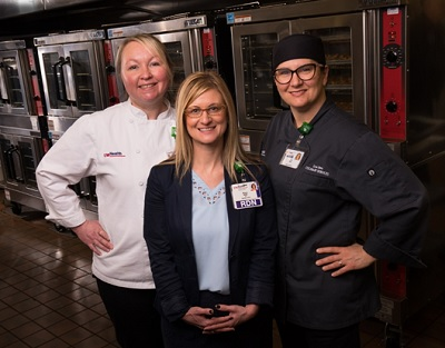 UW Health Culinary Services was recognized by Practice Greenhealth as one of the top 10 hospitals in the nation for healthy, sustainable food
