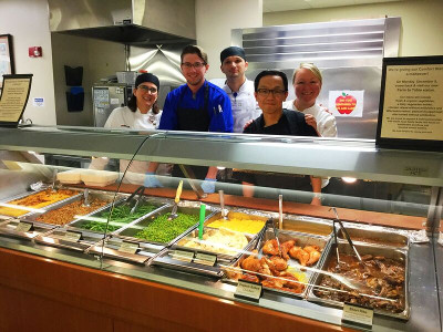 Culinary Services is able to offer healthy, local and sustainable foods in our cafeteria each and every day.