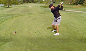 PGA hopeful gets back in the swing with UW Health sports programs