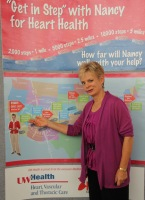 Nancy Zieman at the 9th Annual Quilt Expo