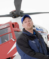 Steve Lipperer, Med Flight pilot