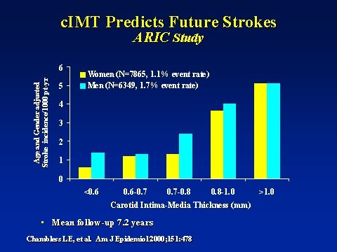 CIMT Predicts Future Strokes