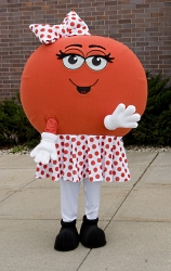 Dottie Donor Dot, organ donation mascot