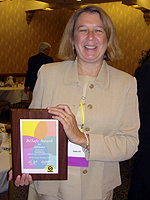 Nan Peterson and the BeSafe Award for Advocacy