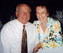 Virtual colonoscopy patient Beverly Holmen, with her husband