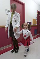 young patient and doctor