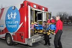 UW Health Critical Care Transport ambulance