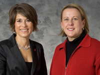 Madison Go Red For Women Luncheon Co-Chairs Debbie Garten and Peg Van Bree