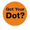 Organ Donation Orange Dot; Free Ice Cream for Organ Donors