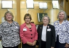 UW Hospital and Clinics senior administration at Magnet ceremony