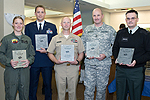 UW Health military reception honorees