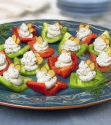 Red and Green Bell Pepper Boats; Go Red for Women Heart Healthy Recipes