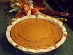 Crustless pumpkin pie is a healthy recipe from the UW Carbone Comprehensive Cancer Center