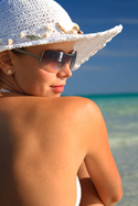 woman on the beach - Ask the Experts - Jeune Skin Care - Madison, Wisconsin