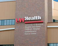 UW Health Sign