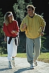 UW Health diabetes resources: Man and woman walking