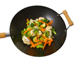 Vegetables in a Wok; UW Health's Go Red for Women offers nutritional information for your healthy lifestyle