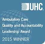 UHC Ambulatory Care Quality and Accountability Leadership Award Winner