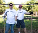 Two UW Health volunteers at Days of Caring