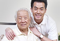 father and son; advance care planning