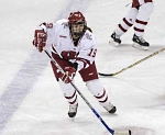 University of Wisconsin women's hockey player