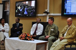 The  panel discussion during the Emergency Medicine Symposium