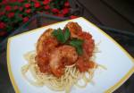 Fresh Tomato Sauce with Spicy Shrimp; Advances Donna's Recipes