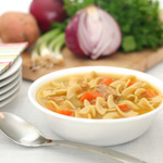 Chicken Noodle Soup; Comfort Food Without the Guilt