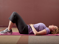 Abdominal tightening exercise