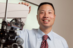"Dr. Michael S. Ip and fellow UW ophthalmologists are excited about their recent breakthrough in treating eye ""strokes."""