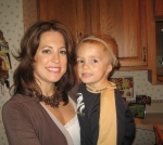 Tiffany Wilke and her son Manny
